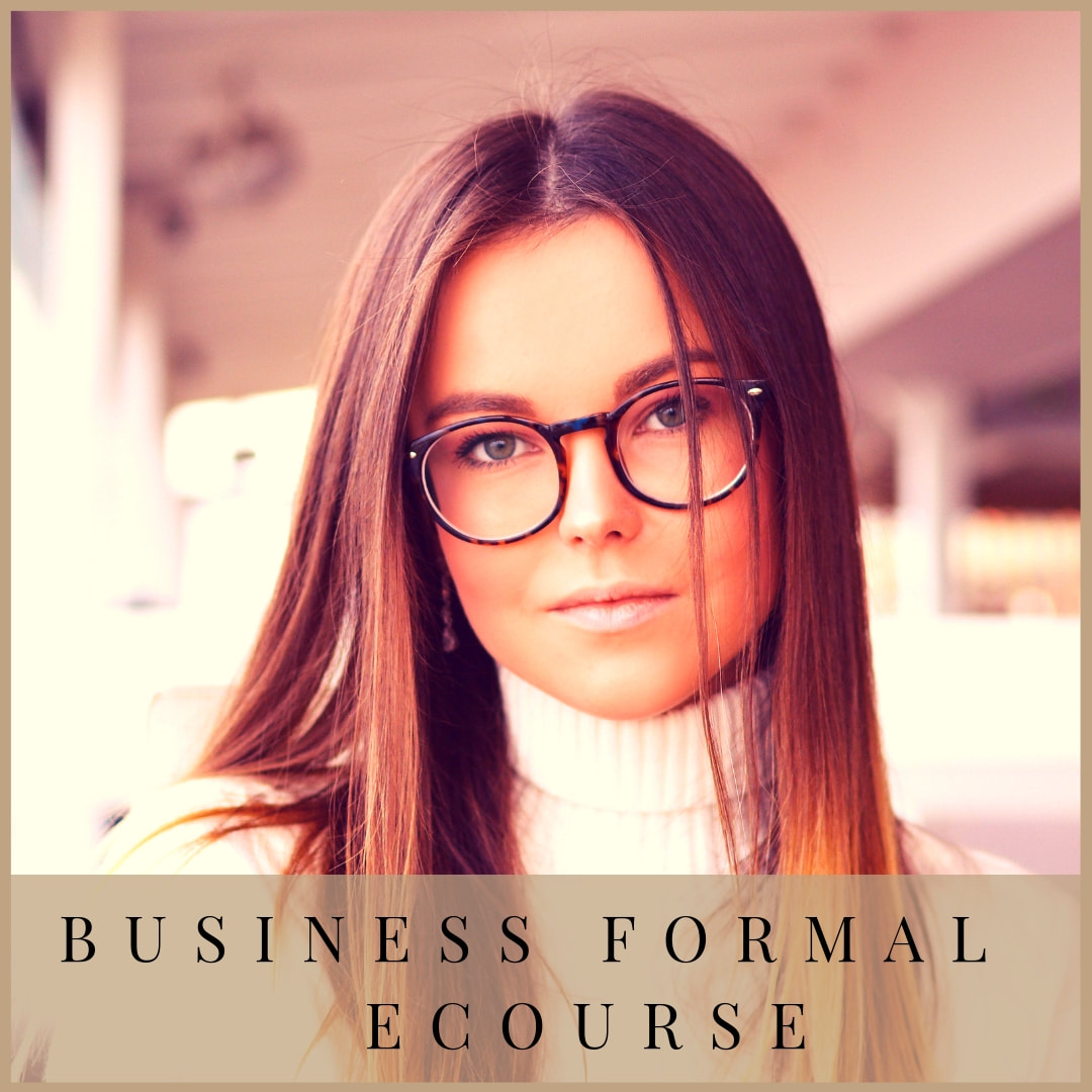 Business Formal ecourse by Marie-Anne Lecoeur
