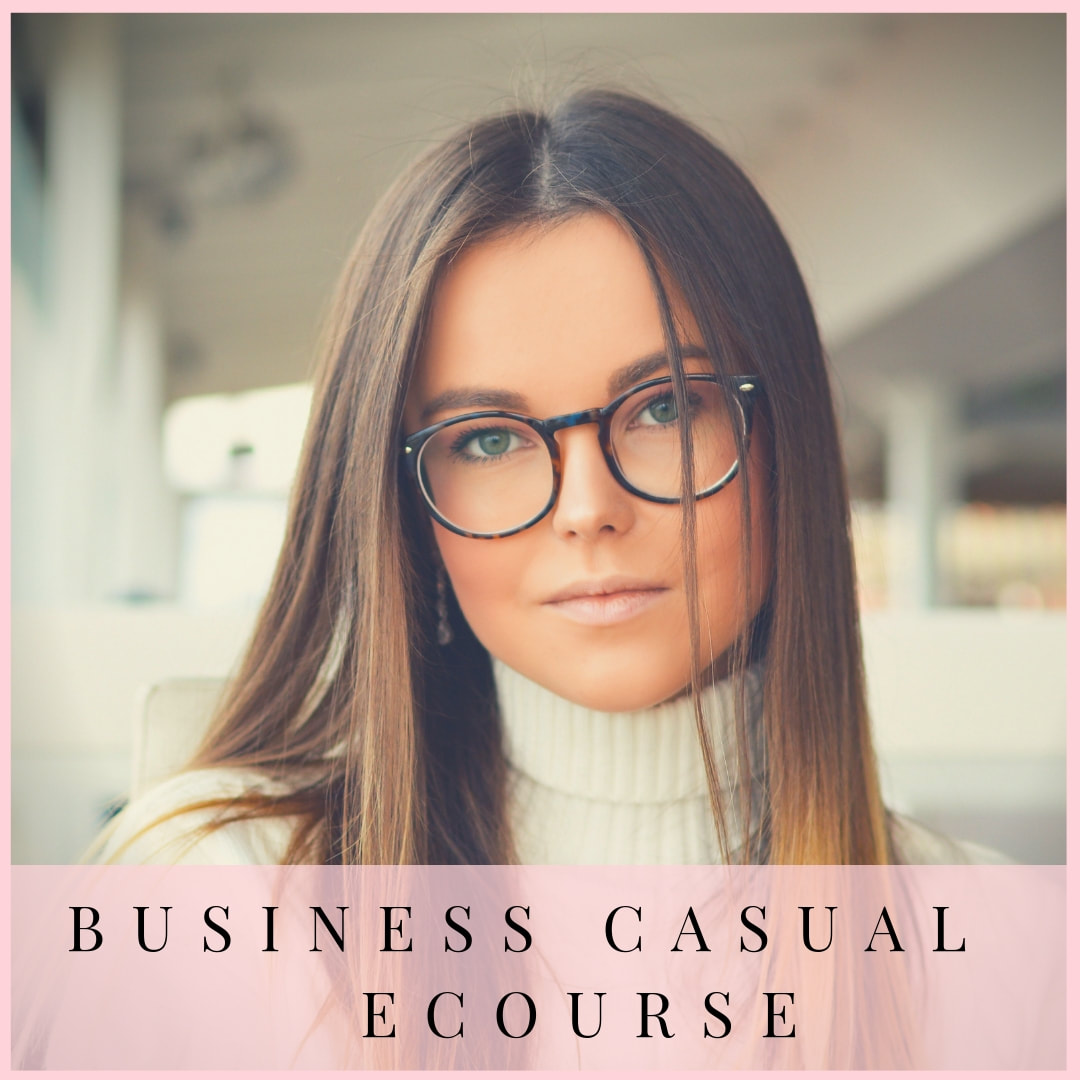Business Casual ecourse by Marie-Anne Lecoeur