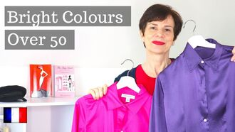How To Wear Bright Colours Over 50