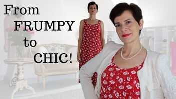 Video - How to Create a Stylish Outfit - From Frumpy to chic by Marie-Anne Lecoeur