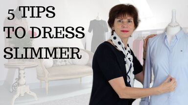 Video - How to Dress Slimmer-5 Simple Tips, by Marie-Anne Lecoeur