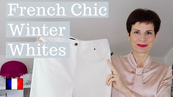 How French Women Style Winter White