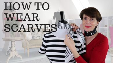 How to Wear Scarves, Video by Marie-Anne Lecoeur