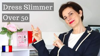 French Chic Look Instantly Thinner⎢Women Over 50