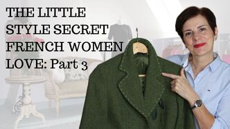 The Little Style Secret French Women Love - Jackets, Video by Marie-Anne Lecoeur