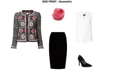 How to Wear Prints and Look Chic