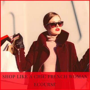SHOP LIKE A CHIC FRENCH WOMAN, ecourse by Marie-Anne Lecoeur